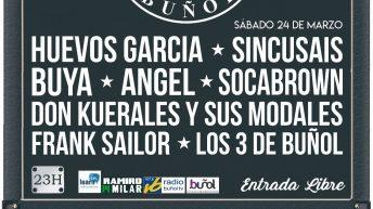 """El Club de Rock Buñol organiza este sábado un concierto en la Sala """"El Mercado"""""""