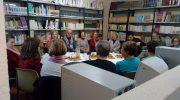 Carmen de Burgos protagoniza la primera tertulia literaria en Macastre con motivo del Día Internacional de la Mujer