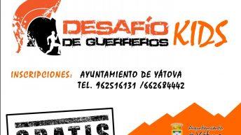 Yátova también celebrará un Desafío de Guerreros para niños y niñas