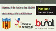 El CD Buñol presentará su nuevo proyecto el próximo martes en la Sala Raga