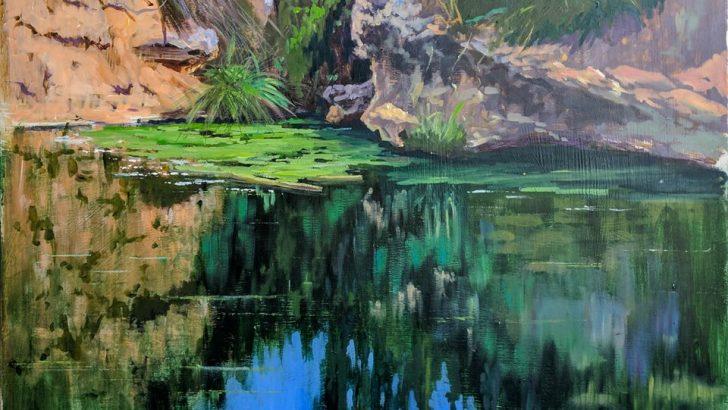 El III Concurso de Pintura Rápida de Alborache sigue creciendo