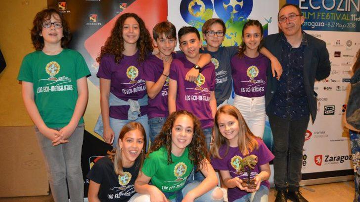 """El Colegio """"Pintor Sorolla"""" de Yátova obtiene el premio al mejor cortometraje en el Festival ECOZINE"""