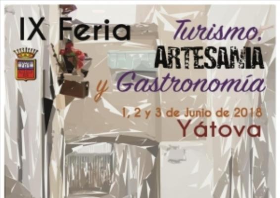 Yátova celebra este fin de semana la IX Feria de Turismo, Artesanía y Gastronomía
