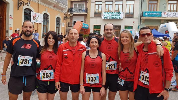 El C.A. Correores, en Cheste y Mestalla