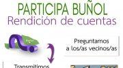 """El Ayuntamiento de Buñol """"rinde cuentas"""" con sus vecinos el próximo viernes"""