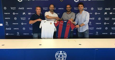 El CD Buñol establece un convenio de colaboración con el Levante UD