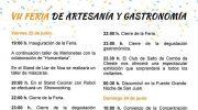 Macastre celebra este fin de semana su VII Feria de Artesanía y Gastronomía