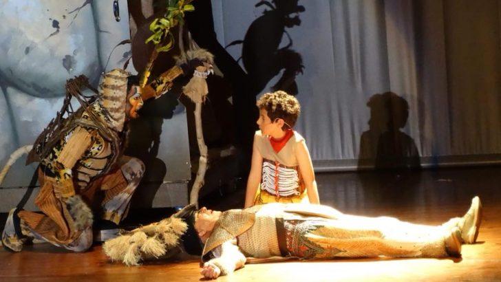 """Las imágenes del musical """"El Reino del León"""" interpretado por la Escuela de Danza """"Luis Ayllón"""" de """"La Artística"""" de Buñol"""