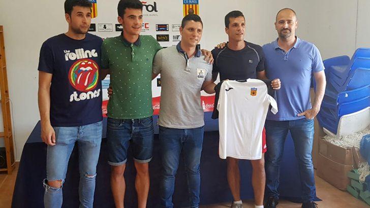 El C.D. Buñol presenta a Álvaro Ortí como nuevo entrenador