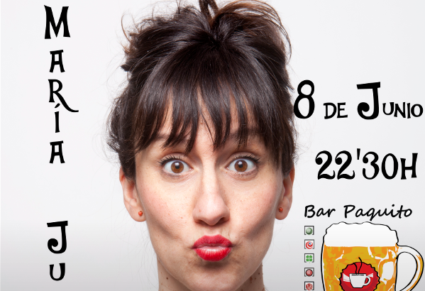 María Juan este viernes en el Circuito Café Teatro de Alborache
