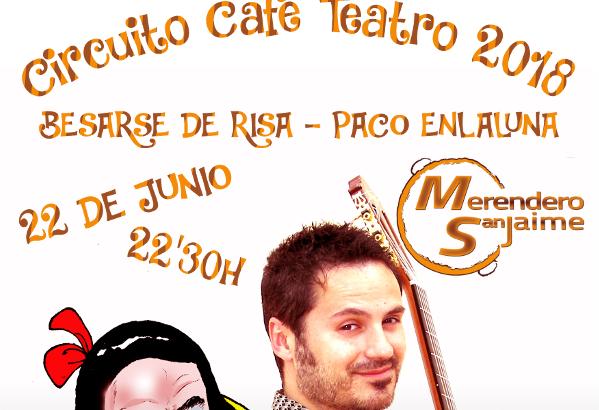 Paco Enlaluna este viernes en el Café Teatro de Alborache