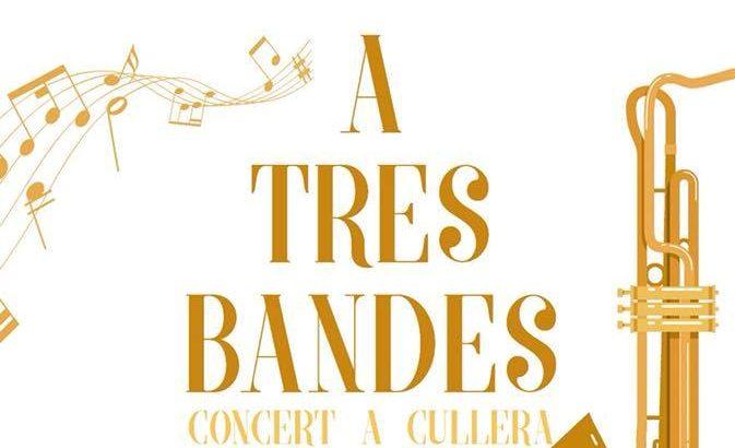 Cullera se prepara este sábado para otro espectacular concierto 'A tres bandes'