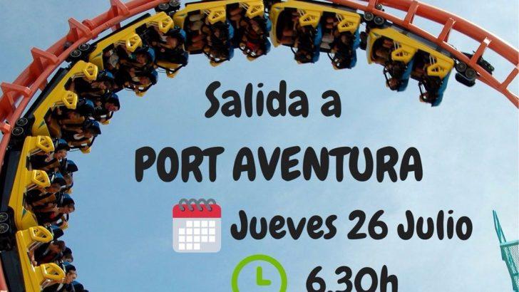 Buñol y La Hoya Joven organizan un viaje a Port Aventura