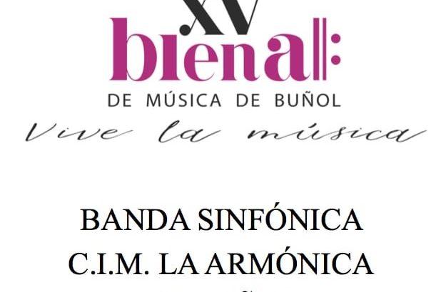 """La XV Bienal de Música de Buñol pone punto final con la actuación del CIM """"La Armónica"""""""