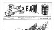 50 años del primer  número de la revista  Voces de Buñol