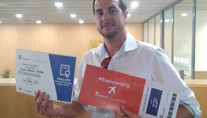 La empresa del buñolense Vicente Ramírez premiada por su innovadora impresora de viviendas
