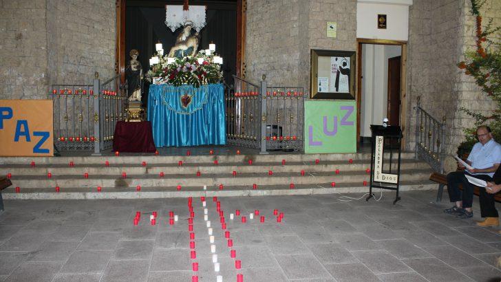 Las imágenes de la Vigilia por la Paz en Buñol