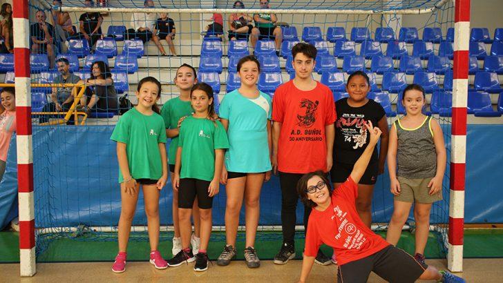 El Club Balonmano Buñol organiza este domingo su tradicional torneo de Mini-Handball