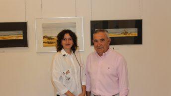 Las imágenes de la inauguración de la exposición de Manuel Martínez en Buñol