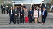"""Buñol, Yátova y Siete Aguas acompañan a Bruselas a la asociación AMICA para presentar """"Campus Diversia"""""""