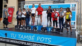 """Elena Cambres se consolida como 4ª """"Senior F"""" en el Circuito Diputación"""