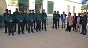 Se incorporan diez nuevos agentes al cuartel de la Guardia Civil de Buñol