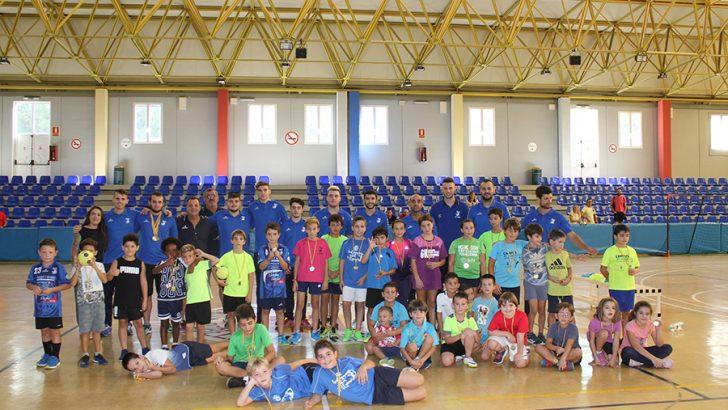Las imágenes del Torneo de Mini-Handball del Club Balonmano Buñol